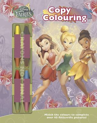 Disney Fairies Copy Colouring (Paperback)