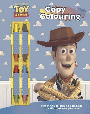 Disney Toy Story Copy Colouring (Paperback)
