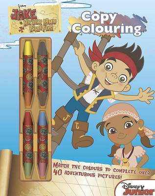 Disney Jake and the Never Land Pirates Copy Colouring: 20 pictures to colour!