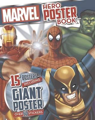 Marvel Super Heroes Poster Book (Paperback)