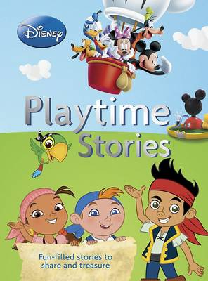 Disney Junior Playtime Stories (Hardback)