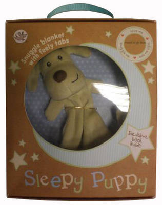 Sleepy Puppy: Adorable blankie to cuddle and lullaby book to share. (Board book)
