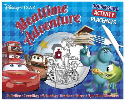 Disney Pixar Mealtime Adventure: Double-Sided Activity Placemats. Activities. Doodling. Colouring. Puzzles. Mazes. Spot the Difference: Double-sided activity placemats. Activities . Doodling . Colouring . Puzzles . Mazes . Spot the difference (Paperback)