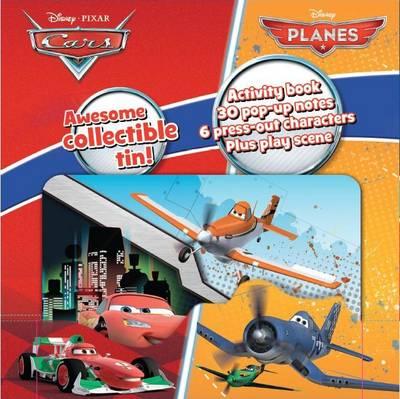 Disney Planes & Cars Mini Tin of Pop Ups: Awesome keepsake tin!
