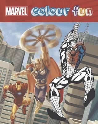Marvel Colour Fun (Paperback)