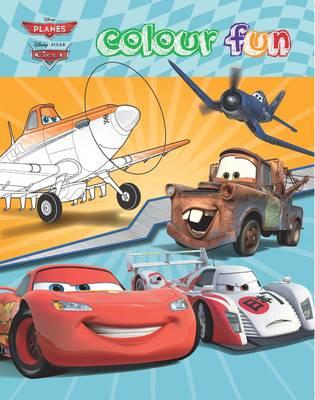 Disney Planes & Cars Colour Fun (Paperback)