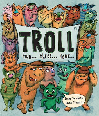 Troll Two Three Four (Picture Story Book) (Paperback)