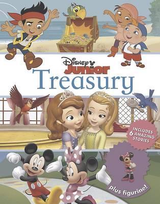 Disney Junior Treasury: Includes 6 Amazing Stories Plus Figurine!: Includes 6 amazing stories plus figurine! (Hardback)