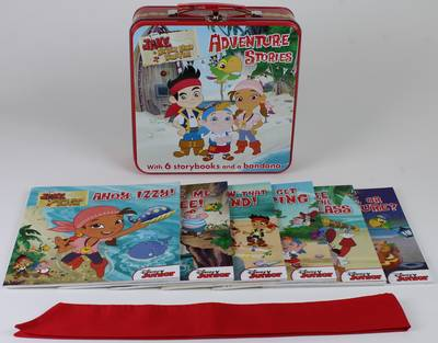 Disney Junior Jake and the Never Land Pirates Adventure Stories: With six storybooks and a bandana