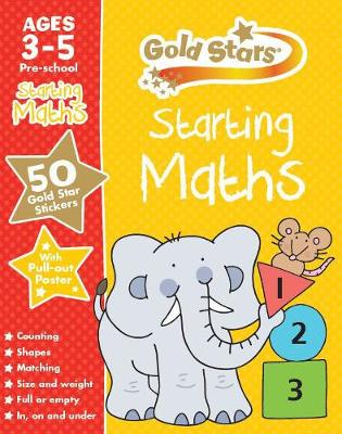 Gold Stars Starting Maths Ages 3-5 Pre-school