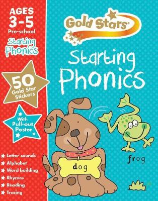 Gold Stars Starting Phonics Ages 3-5 Pre-school