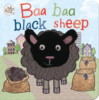Little Learners Baa Baa Black Sheep Finger Puppet Book (Board book)