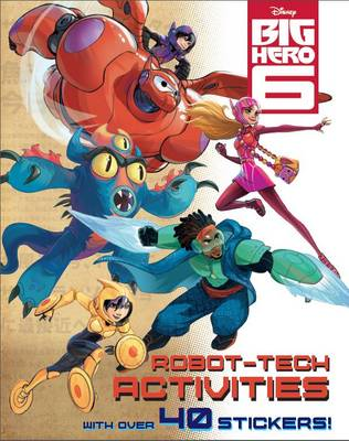 Disney Big Hero 6 Activity Book (Paperback)