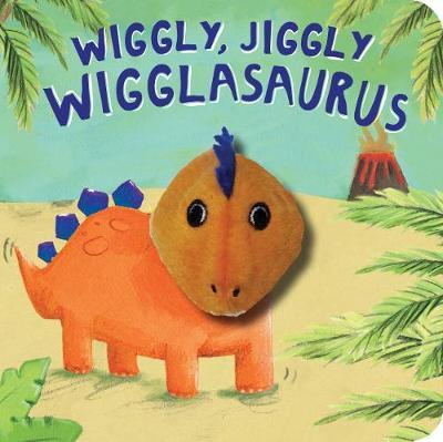 Wiggly, Jiggly Wigglasaurus! Finger Puppet Book (Board book)