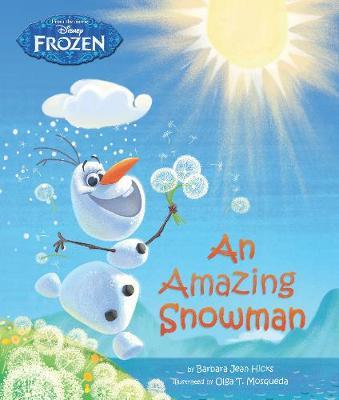 Disney Frozen An Amazing Snowman (Paperback)