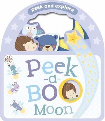 Little Learners Peek-a-Boo Moon - Peek and Explore (Board book)
