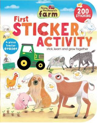 Young Macdonald's Farm First Sticker Activity (Paperback)
