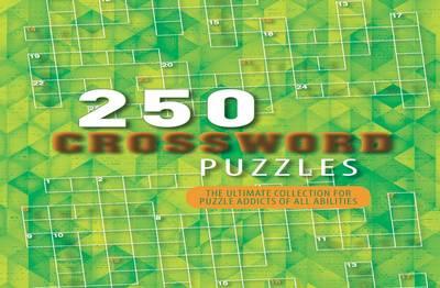 250 Puzzles Crossword (Spiral bound)