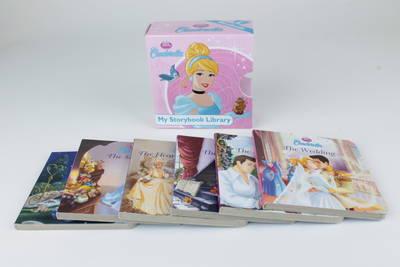 Disney Cinderella My Storybook Library: With a Cinderella figurine! (Board book)