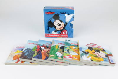 Disney Mickey My Storybook Library (Board book)