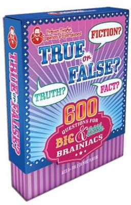 Professor Murphy's Game Cards: True or False?: 600 Questions for Big & Little Brainiacs