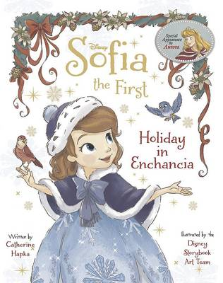 Disney Sofia the First Holiday in Enchancia (Paperback)