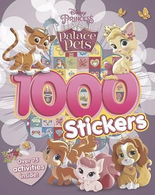 Disney Princess Palace Pets 1000 Stickers (Paperback)
