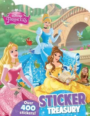 Disney Princess Sticker Treasury (Paperback)