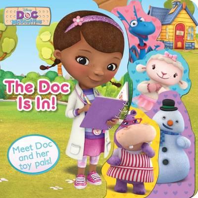 Disney Junior Doc McStuffins The Doc Is In! (Board book)