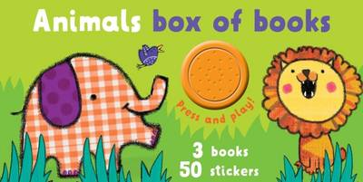 Block Book and Sound Boxset Animals (Board book)