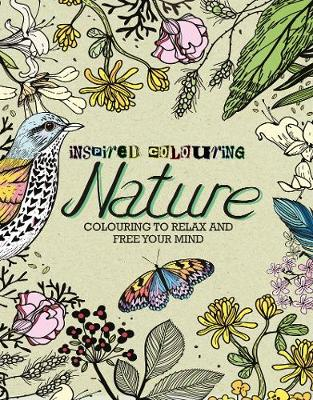 Book Paperback Inspired Colouring Nature To Relax And Free Your Mind