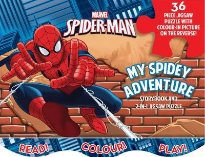 Marvel Spider-Man My Spidey Adventure: Storybook and 2-in-1 Jigsaw Puzzle