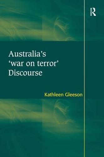 Australia's 'war on terror' Discourse (Hardback)