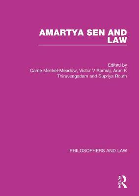 Sen and Law - Philosophers and Law (Hardback)