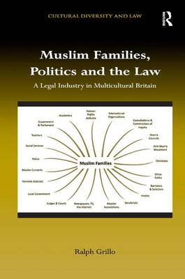 Muslim Families, Politics and the Law: A Legal Industry in Multicultural Britain - Cultural Diversity and Law (Hardback)
