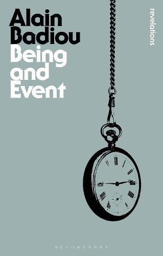 Being and Event - Bloomsbury Revelations (Paperback)