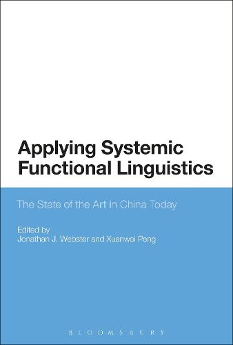 Applying Systemic Functional Linguistics: The State of the Art in China Today (Hardback)