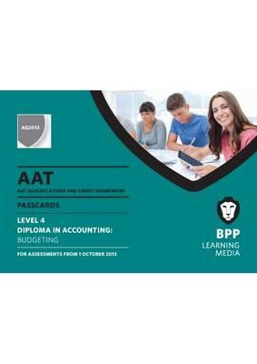 AAT Budgeting: Passcards (Spiral bound)