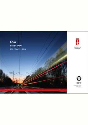 ICAEW Law 2014: Passcards (Spiral bound)