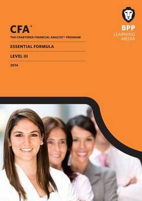 CFA Level 3: Essential Formulas (Paperback)
