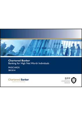 Cover Chartered Banker Banking for High Net Worth Individuals: Passcards