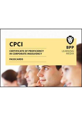 CPCI Certificate of Proficiency in Corporate Insolvency: Passcard (Spiral bound)