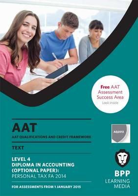 AAT Personal Tax FA2014: Study Text (Paperback)