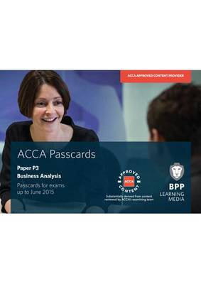 ACCA - P3 Business Analysis: Paper P3: Passcards (Spiral bound)