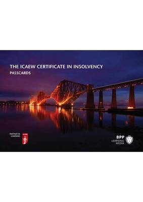 ICAEW Certificate in Insolvency: Passcards (Spiral bound)