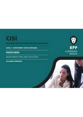 CISI IAD Level 4 Investment Risk and Taxation Syllabus Version 5: Syllabus version 5: Passcards (Spiral bound)