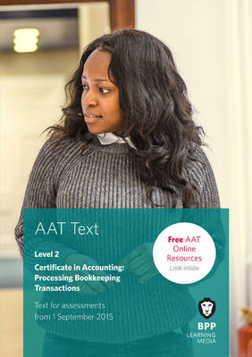 AAT Processing Bookkeeping Transactions: Study Text (Paperback)