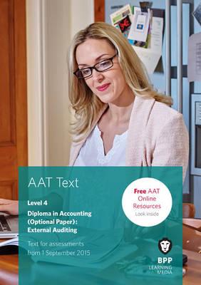 AAT External Auditing: Study Text (Paperback)