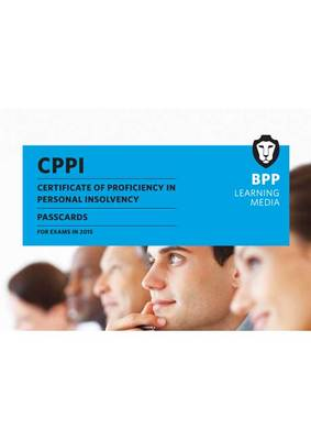 CPPI - Certification of Proficiency in Personal Insolvency Passcards (Spiral bound)