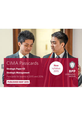 CIMA E3 Strategic Management: Passcards (Spiral bound)